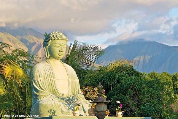 Buddha in Lahaina Maui