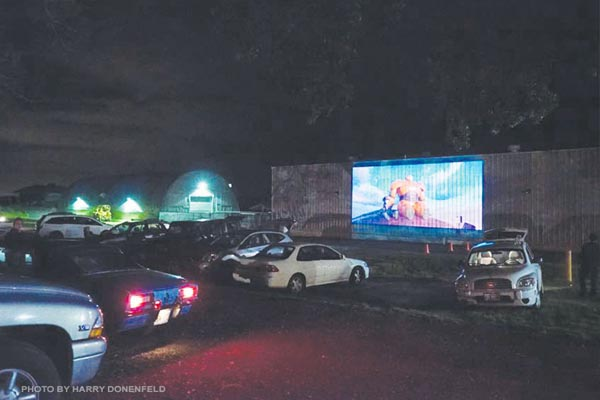 Drive in movies in Maui