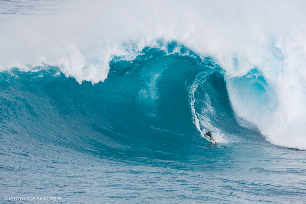 Jaws surfing Maui