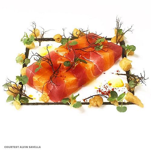 fancy sashimi