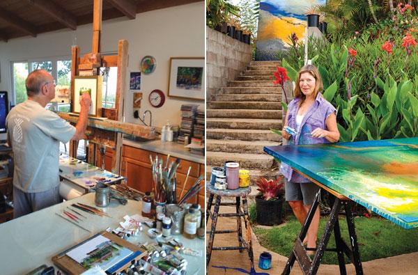 Maui open studios