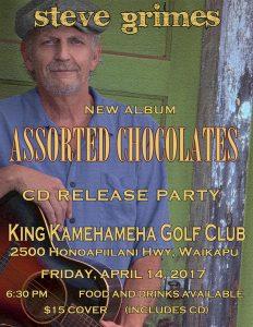 Steve Grimes release party