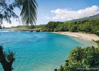 best beach in Hana Maui