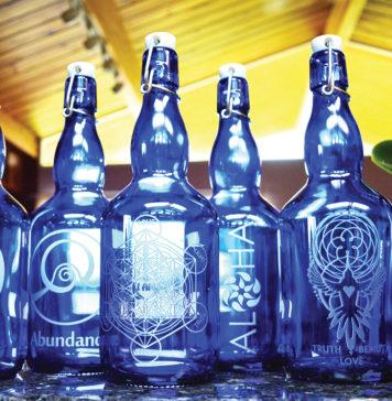 Blue Bottle Love