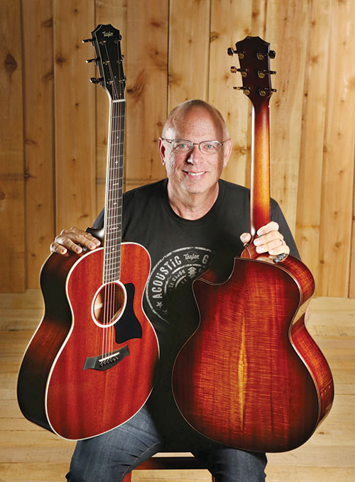 Bob Taylor, Koa guitars