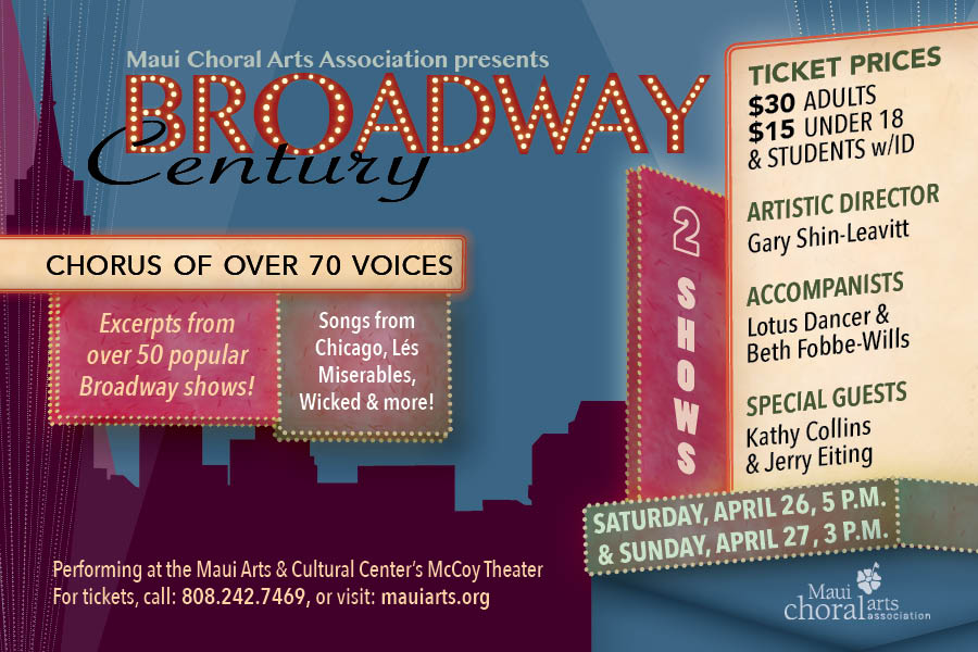 Broadway plays in Maui