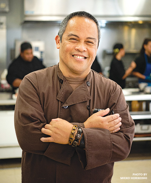 Chef Larry Tuzon