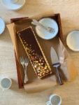 Chocolate Lilikoi Caramel Tart