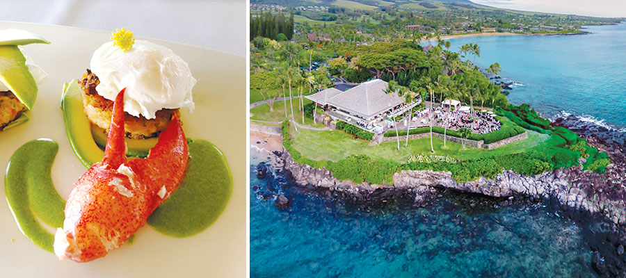 Maui restaurants with a view