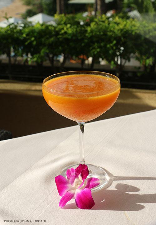 ginger chili cocktail