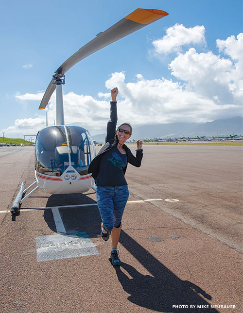Maui Helicopter Lesson