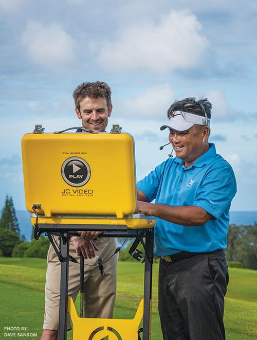 Kapalua golf video analysis