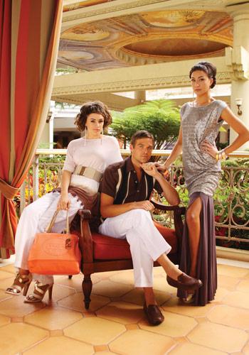 Grand Wailea fashion photo shoot in Maui