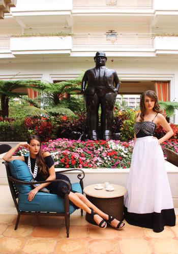 Grand Wailea fashion photo shoot in Maui