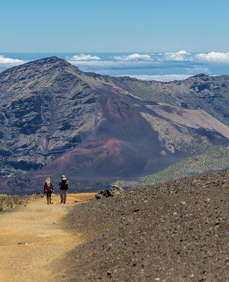 Haleakala cabin trib