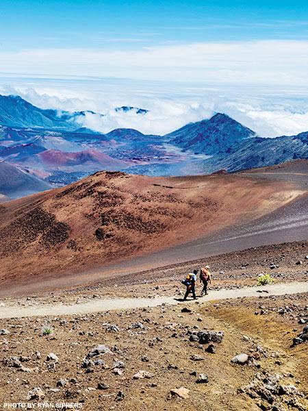 Haleakala Crater hiking