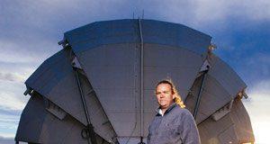 Haleakala astronomer