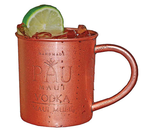 maui mule cocktail