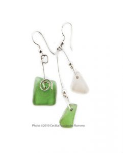 Hawaiian-Sea-Glass-earrings
