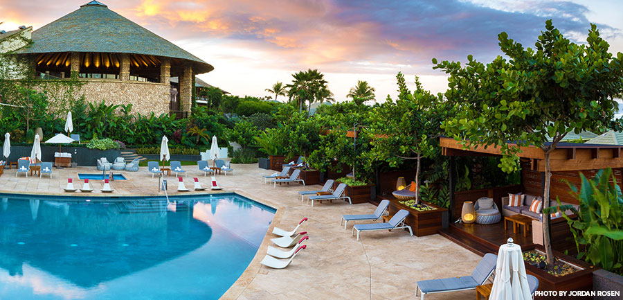 Hotel Wailea pool