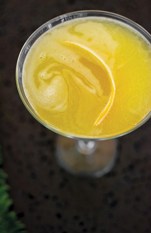 Lilikoi martini