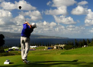 Hyundai golf tournament on Maui
