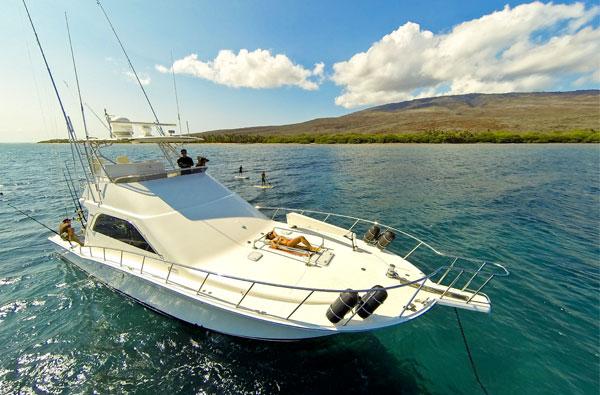 yacht trip maui