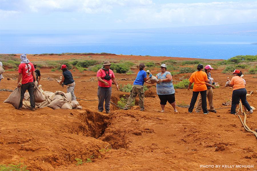Kahoolawe Island cleanup