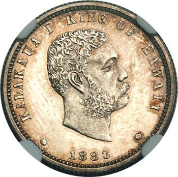 Kalakaua-Coins