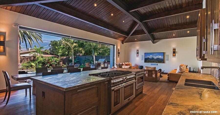 maui designer kitchen