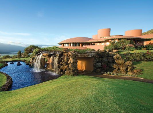 King Kamehameha Golf Course Clubhouse