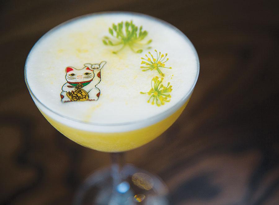 Maneki Neko cocktail
