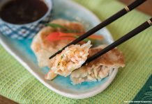 lobster potstickers