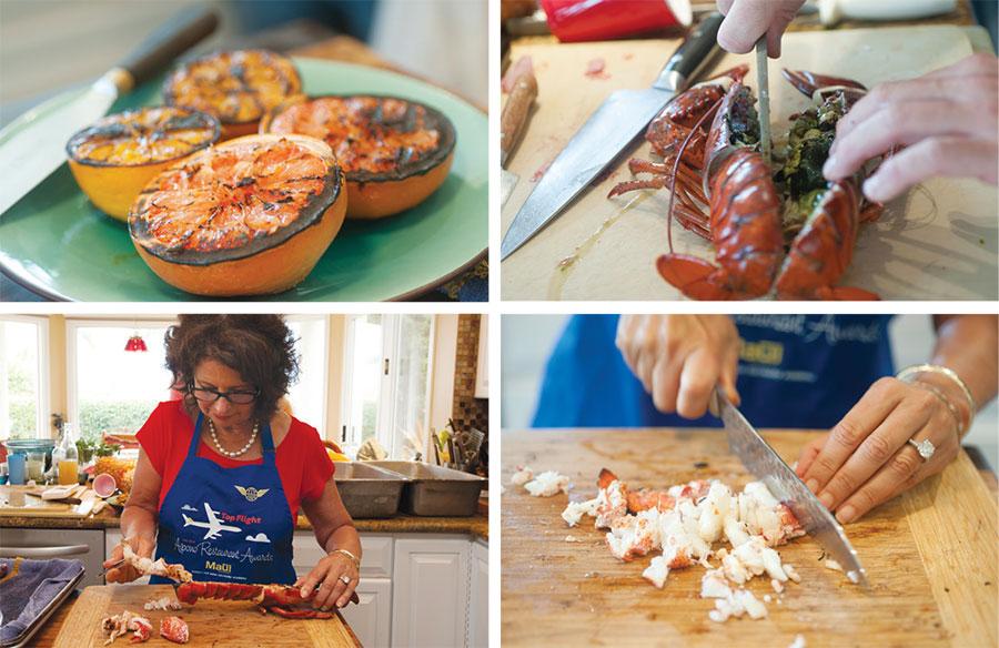 how to make lobster vinaigrette