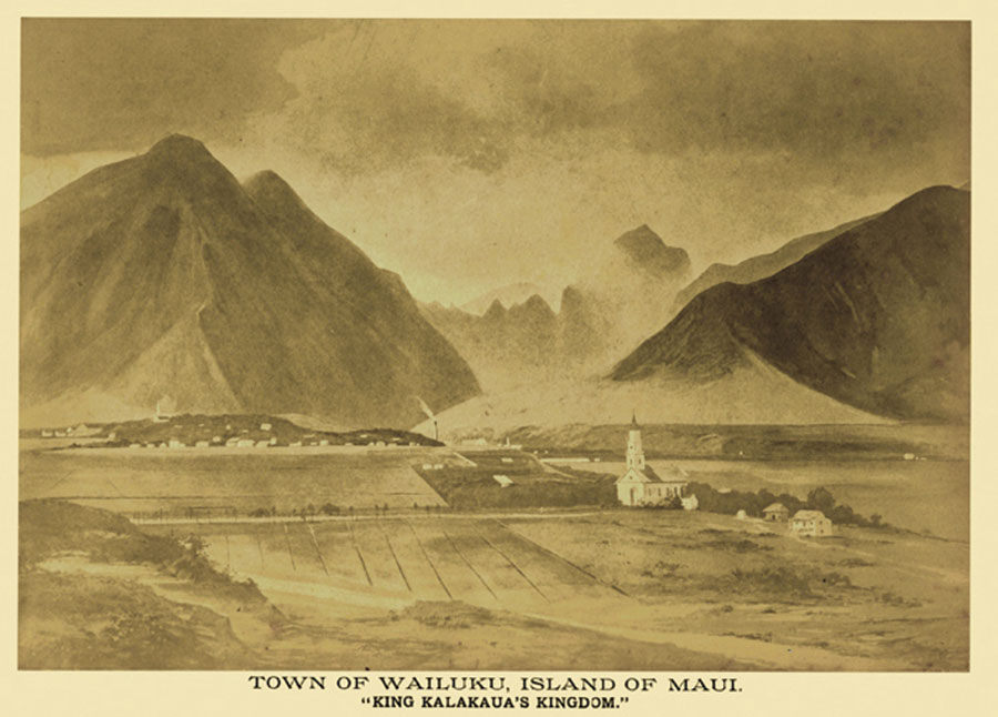 Wailuku historic photo