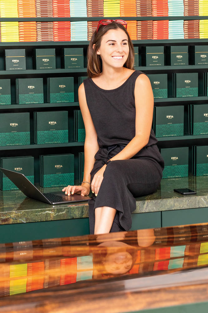 Marketing director Caitlyn Fisler