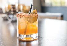 mango paloma cocktail
