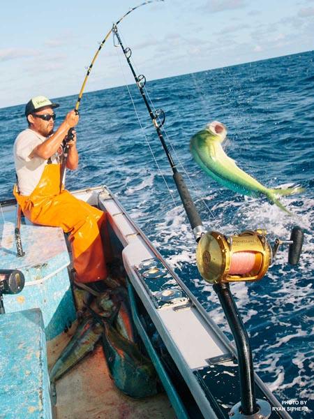 Maui deep sea fishing