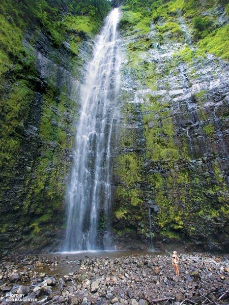 Waimoku Falls in Maui
