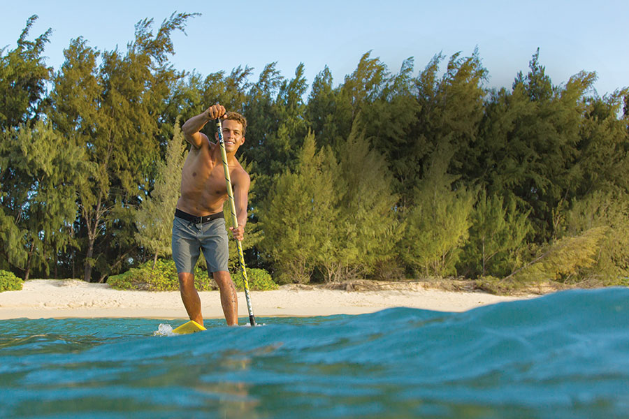 Maui beach SUP