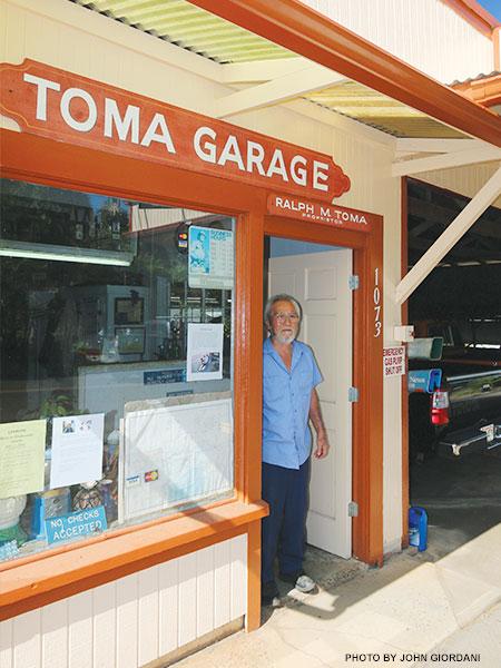 Toma Garage Maui