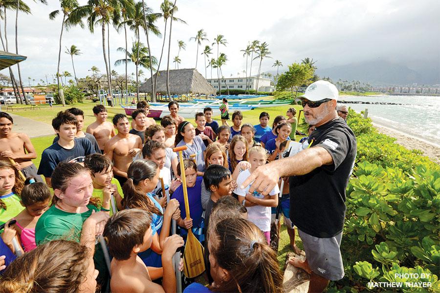 kids canoe club maui