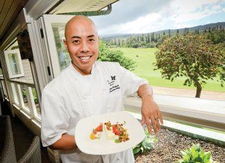 Maui Chef of the Year Jojo Vasquez