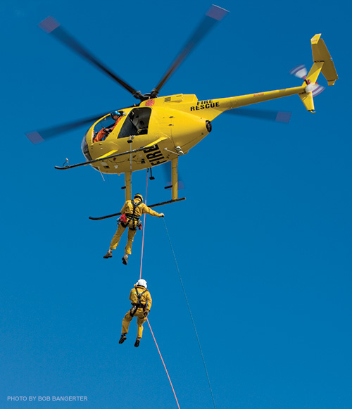 Maui helicopter rescue