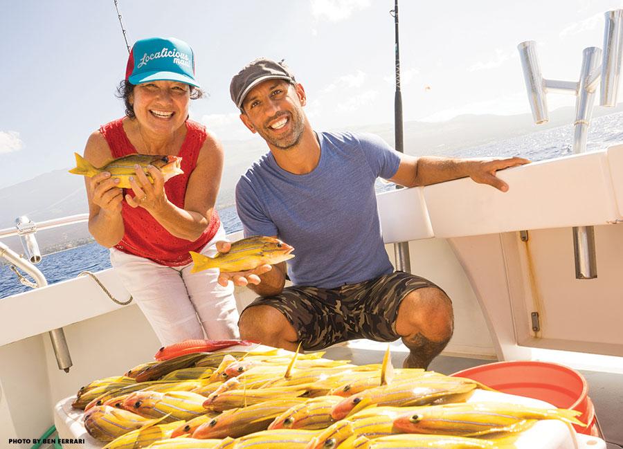 Maui fishing charter