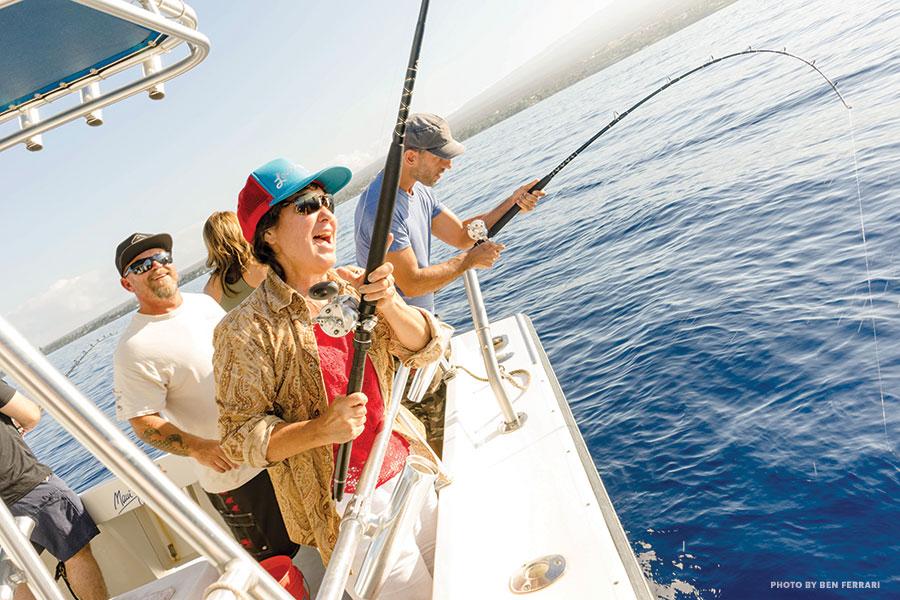 Maui fun fishing charter