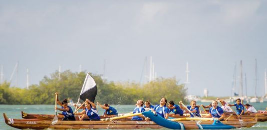 Maui girls canoe club