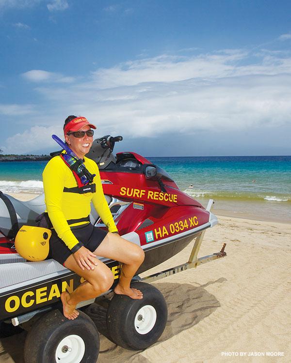 Maui Lifeguard Tamara Paltin