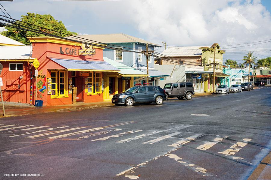 Baldwin Avenue just above Hāna Highway