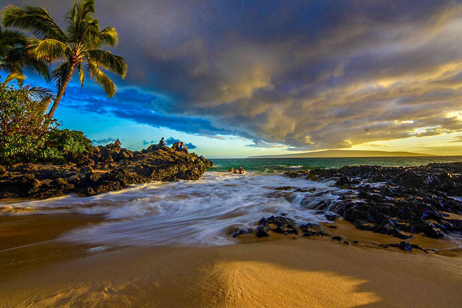 Maui beach photo